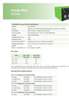 Verderflex EV045 Economy Cased Tube Pumps - Technical Datasheet