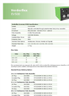 Verderflex EV500 Economy Cased Tube Pumps - Technical Datasheet