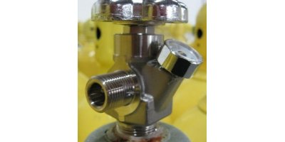 High Pressure Valve with Gauge
