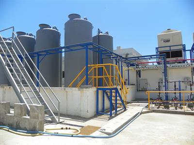 On-site chlorine and sodium hypochlorite generation systems for Bleach manufacturing solutions
