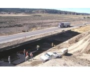 Geoweb base stabilization solution for soft subgrades New Mexico - Case Study