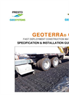 GEOTERRA-GTO Specification Installation Guide