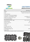 GeoTerra - Model GTO - Portable Construction Mats - Technical Specifications