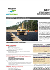 GEOTERRA - Structural Mat System - Specification Summary - Brochure (PDF 256 KB)
