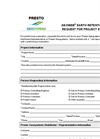 Geoweb Earth Retention Request for Project Evaluation
