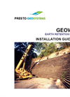 Geoweb Earth Retention Installation Guidelines