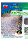 Geoblock/Geoweb - Solutions for Trails and Greenways - Brochure