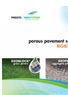 GeoBlock - Vegetated Porous Pavement - Brochrue