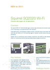Squirrel - SQ2020 - Wi-Fi Series Data Logger – Datasheet