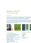 Squirrel - SQ2010 - Data Logger – Datasheet
