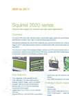 Squirrel - SQ2020 Series - Data Logger – Datasheet