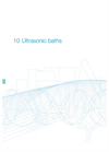 XUBA - Analogue Ultrasonic Baths – Datasheet