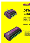 Datataker - DT8x Series - Data Loggers – Manual