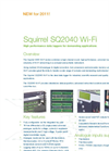 Squirrel - SQ2040 - Wi-Fi Data Loggers – Datasheet
