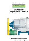 Model GRS - Reject Separator Brochure