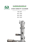 High Density Cleaner Brochure
