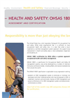 LRQA Heath & Safety OSHAS 18001