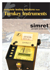 Simret - 3000 - Portable Heavy Vehicle and Locomotive Brake Tester with Printer Datasheet