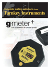 g-meter+ - With PC Software & Optional Printer Datasheet