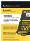 BrakeSafe - Classic - Brake Tester With Printer Datasheet