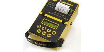 BrakeSafe - Model Classic - Brake Tester With Printer