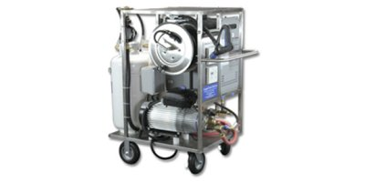 AaquaTools - Model HotCart - Compact Tankless Hot High Pressure Washer