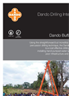 Dando - Buffalo 3000 - Water Well Drilling Rigs - Brochure