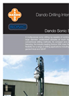 Model SDC375 - Sonic Drilling Rig Specification Sheet