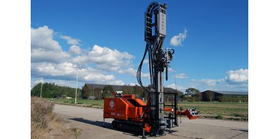 Dando - Model Multitec 6000 - Multipurpose Drilling Rig