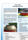 Onion Tanks - Self Supporting Tanks - Brochure