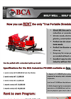 Model PD1000 - Portable Shredder Brochure