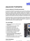 Process Analyzers for Fluoride measuremen F10/F20/F30- Brochure