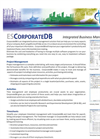 CorporateDB - Integrated Business Management Software Brochure