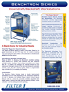 Benchtron - Model BF Series - Benchtron Downdraft/Backdraft Workstation - Brochure
