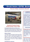 Dustron - Model DPB Series - Multi-Stage Panel Filter Booth - Brochure