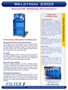 Weldtron - Model 2000 - Backdraft Welding Tables - Brochure