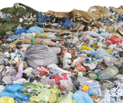 Waste shredding for municipal waste plants