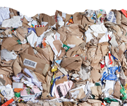 Paper shredding for the paper recycling industry