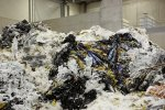Plastic shredding for the plastic recycling industry