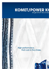 Power Komet 1100 / 1800 / 2200 / 2800 Heavy-Duty Single Shaft Shredder Brochure
