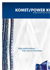 Komet 1100 / 1800 / 2200 / 2800 Heavy Duty Single Shaft Shredder Brochure