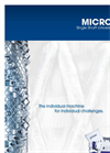 Micromat 2000 - 2500 Powerful, Highly Configurable Single Shaft Shredder Brochure