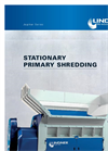 Jupiter - Stationary Primary Shredding - Brochure