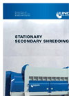 Komet / Komet PK / Komet HP - Stationary Secondary Shredding - Brochure