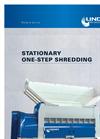 Lindner Polaris - Stationary One-Step Shredding - Brochure