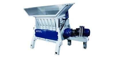 Lindner Universo - Model 2200 / 2800 - Powerful, Highly Configurable Single Shaft Waste Shredder
