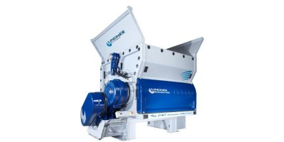 Lindner Micromat - Model 2000 / 2500 - Powerful, Highly Configurable Single Shaft Waste Shredder