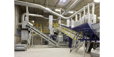 Lindner - Premium Solid Recovered Fuel (SRF) Processing System