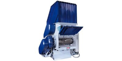 Compact Single Shaft Waste Shredder-1
