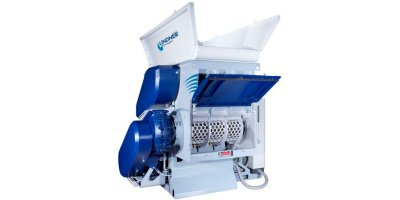 Compact Single Shaft Waste Shredder-2